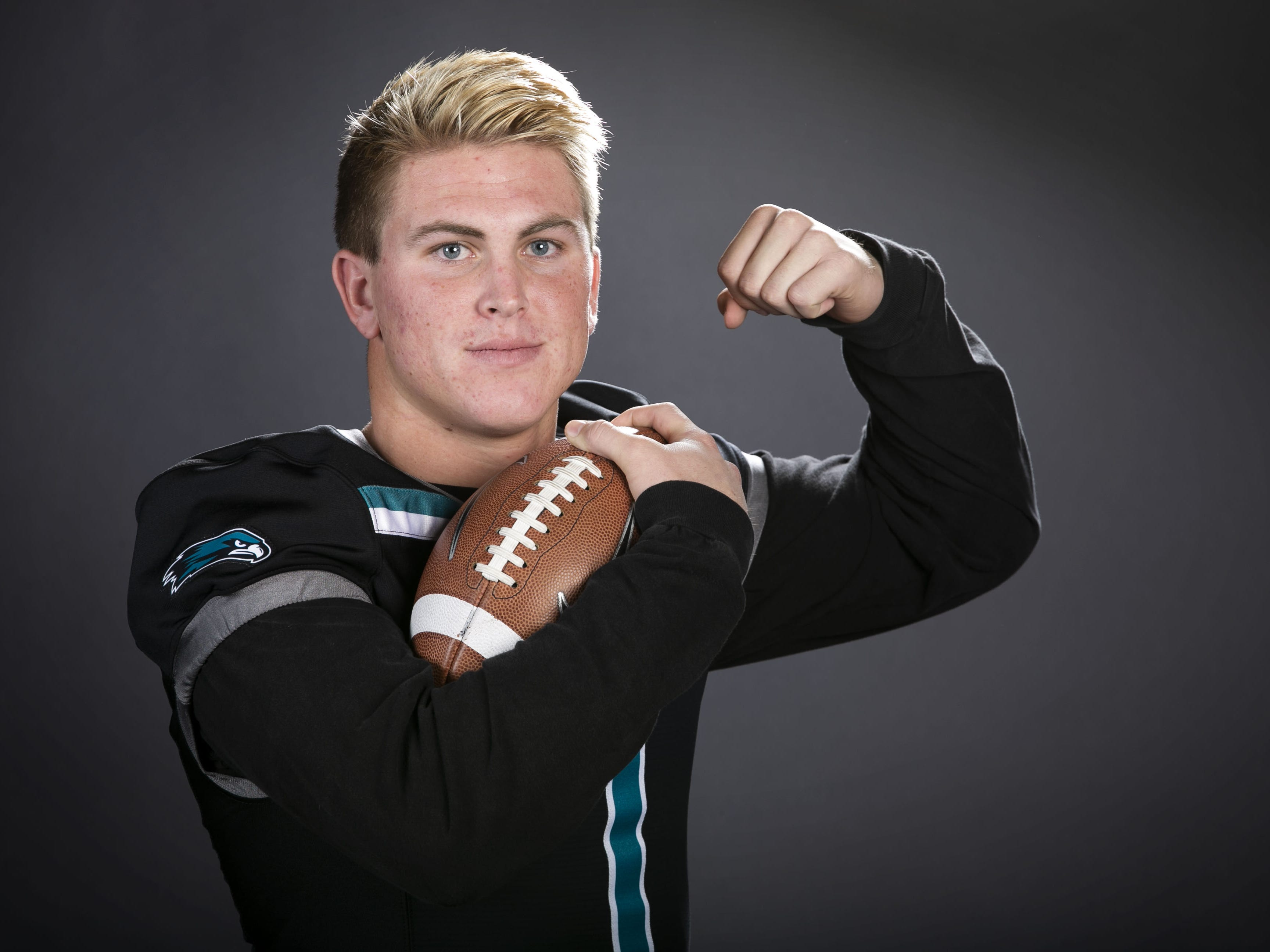 Kohner Cullimore a running back and safety with Highland High School is a finalist for the azcentral Sports Awards high school football Player of the Year.