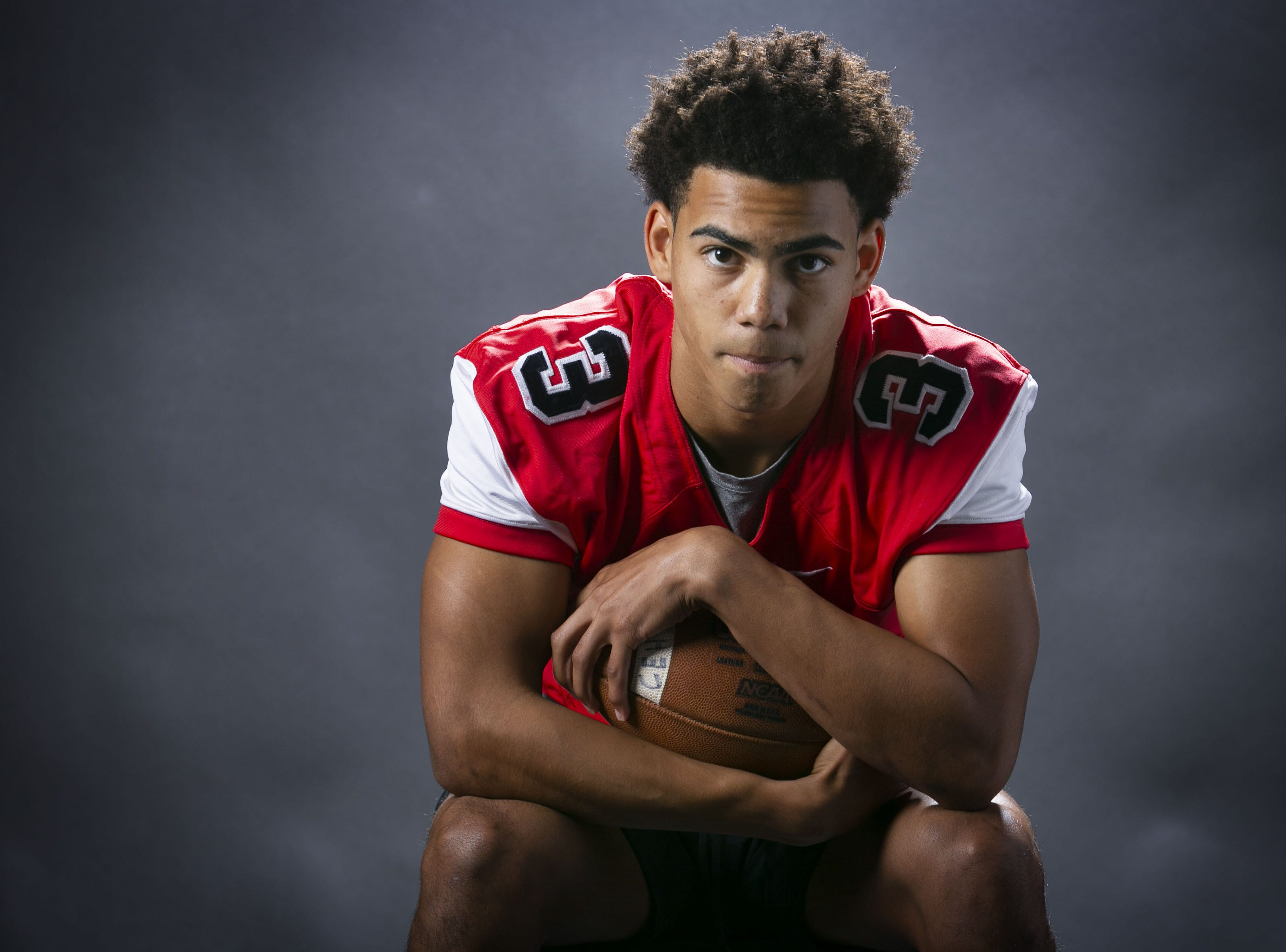 Jaydin Young, a running back and safety with Centennial High is a finalist for the azcentral Sports Awards high school football Player of the Year.