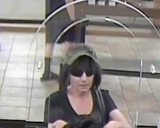 Biddy Bandit bank robber