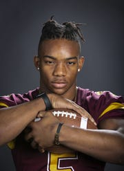 Bijan Robinson, a running back at Salpointe Catholic is a finalist for the azcentral Sports Awards high school football Player of the Year.