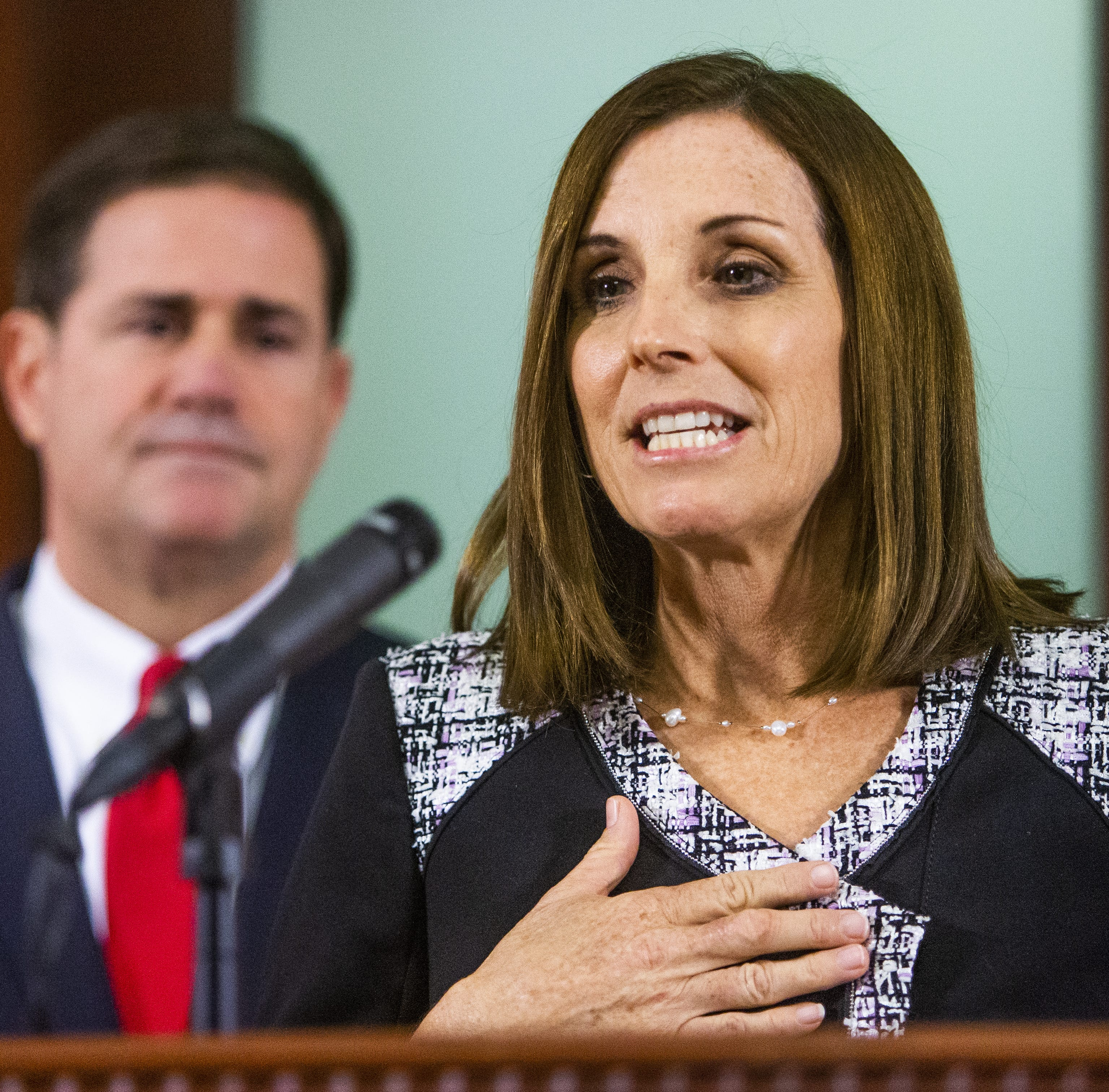 Martha McSally appointed to John McCain's Senate seat
