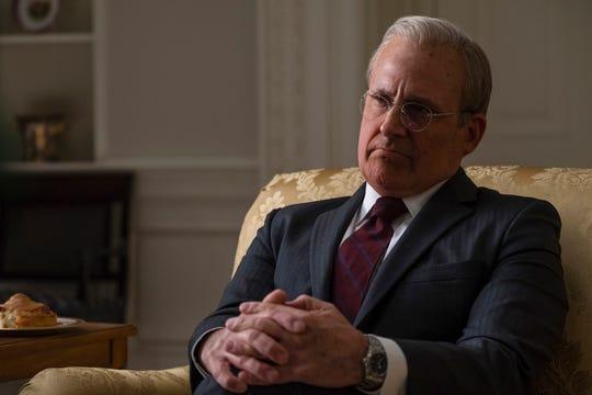 """Steve Carell plays Donald Rumsfeld in """"Vice."""""""