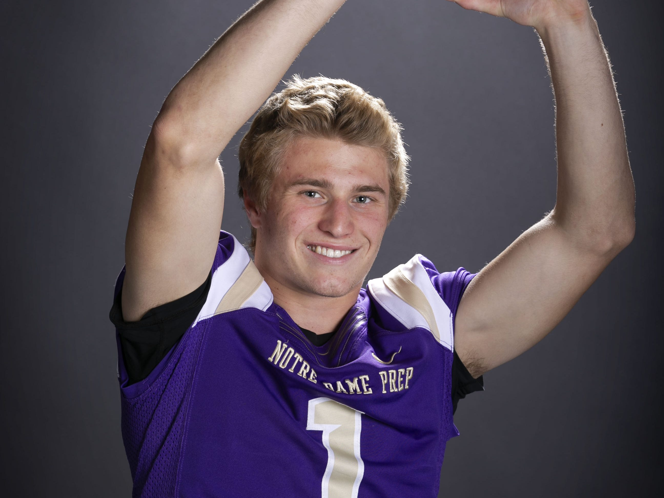 Jake Smith, a receiver with Notre Dame Prep is a finalist for the azcentral Sports Awards high school football Player of the Year.