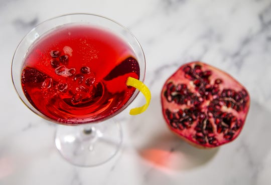 Renowned chef Robin Miller created this pomegranate seltzer.