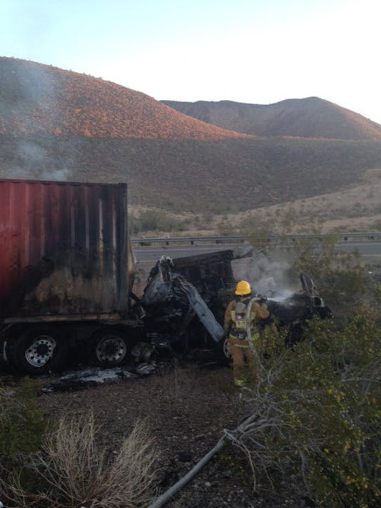 Fatal crash on I-10 near Quartzsite causes delays