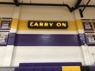 "Mesa High ""Carry On"""