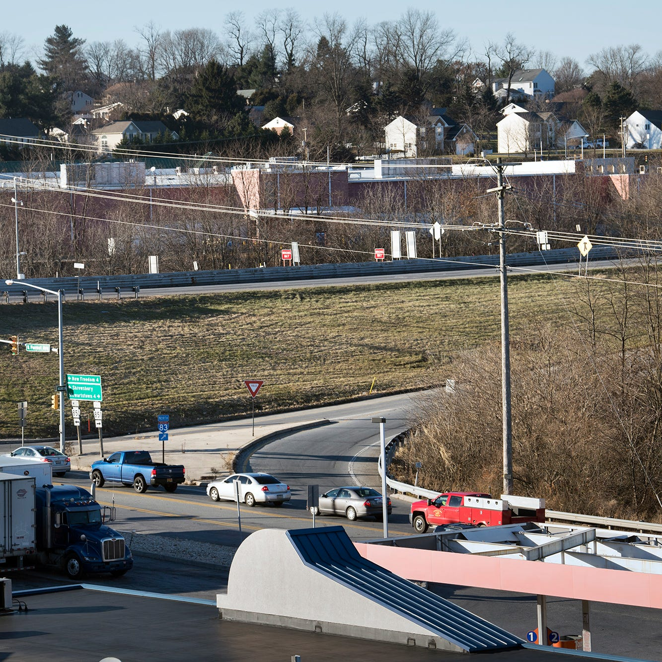 I-83 Exit 4: Watch for overnight lane restrictions as work starts for new interchange