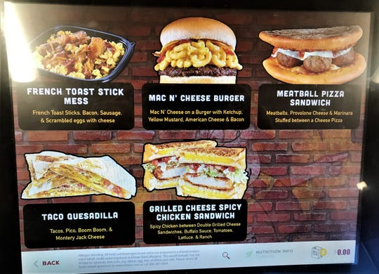 A look at the 6 'secret' items on the Pop's Kitchen menu. The menu is only available at Sheetz locations in Altoona, State College and York. The new menu is expected to launch statewide in early 2019.