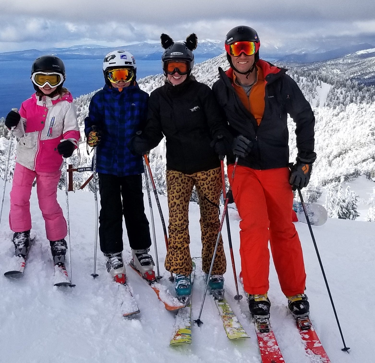 Skiing, glorious skiing: Tahoe Dad
