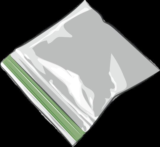 Plastic baggie