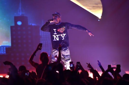 Travis Scott In Concert New York Ny
