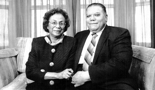 Constance Mitchell and her husband, John Mitchell, worked on several political campaigns together from John and Bobby Kennedy in the Sixties to the campaign of Rochester Mayor William A. Johnson Jr.