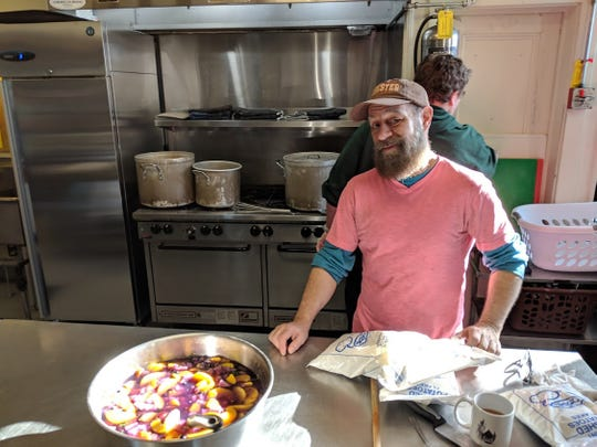 Allen Callerame runs a Meal and More for the Episcopal Diocese of Rochester.