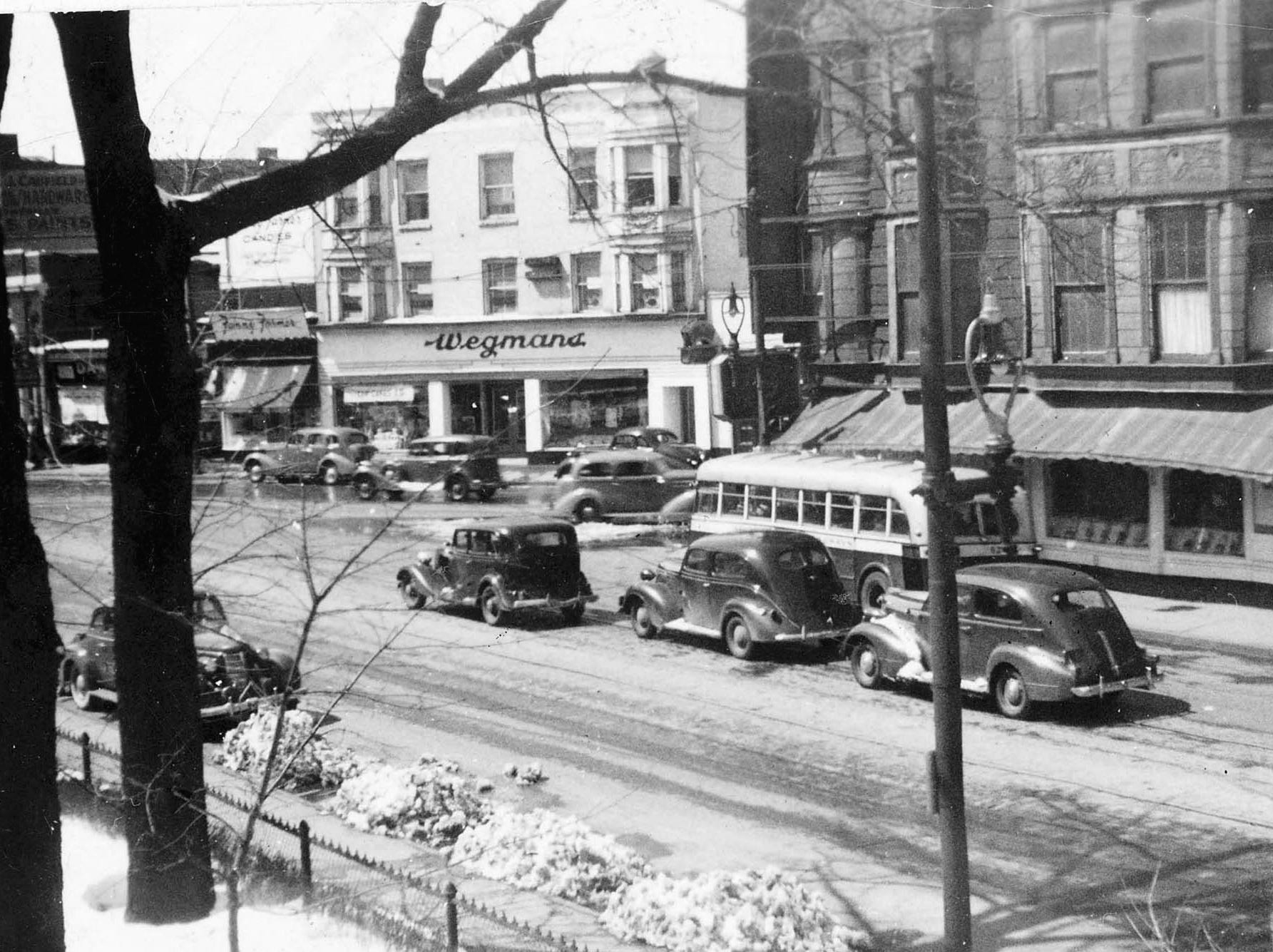 This photo from 1937 shows a Wegmans store in Rochester's Bull's Head neighborhood