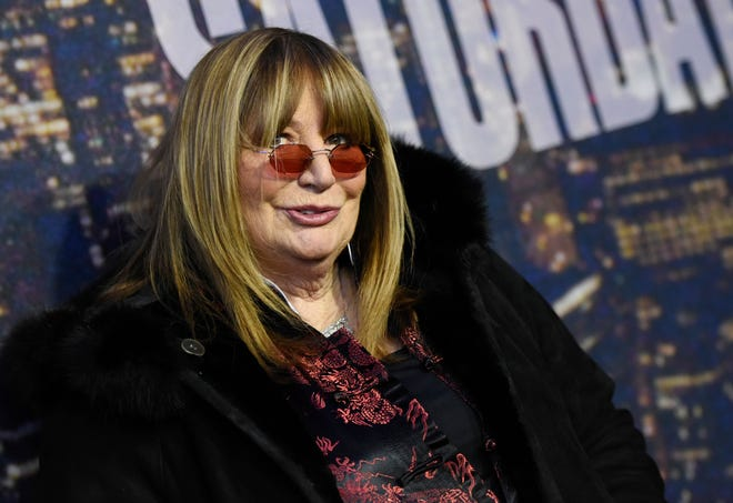 FILE - In this Feb. 15, 2015 file photo, actress and director Penny Marshall attends the SNL 40th Anniversary Special in New York. Marshall died of complications from diabetes on Monday, Dec. 17, 2018, at her Hollywood Hills home. She was 75. (Photo by Evan Agostini/Invision/AP, File)