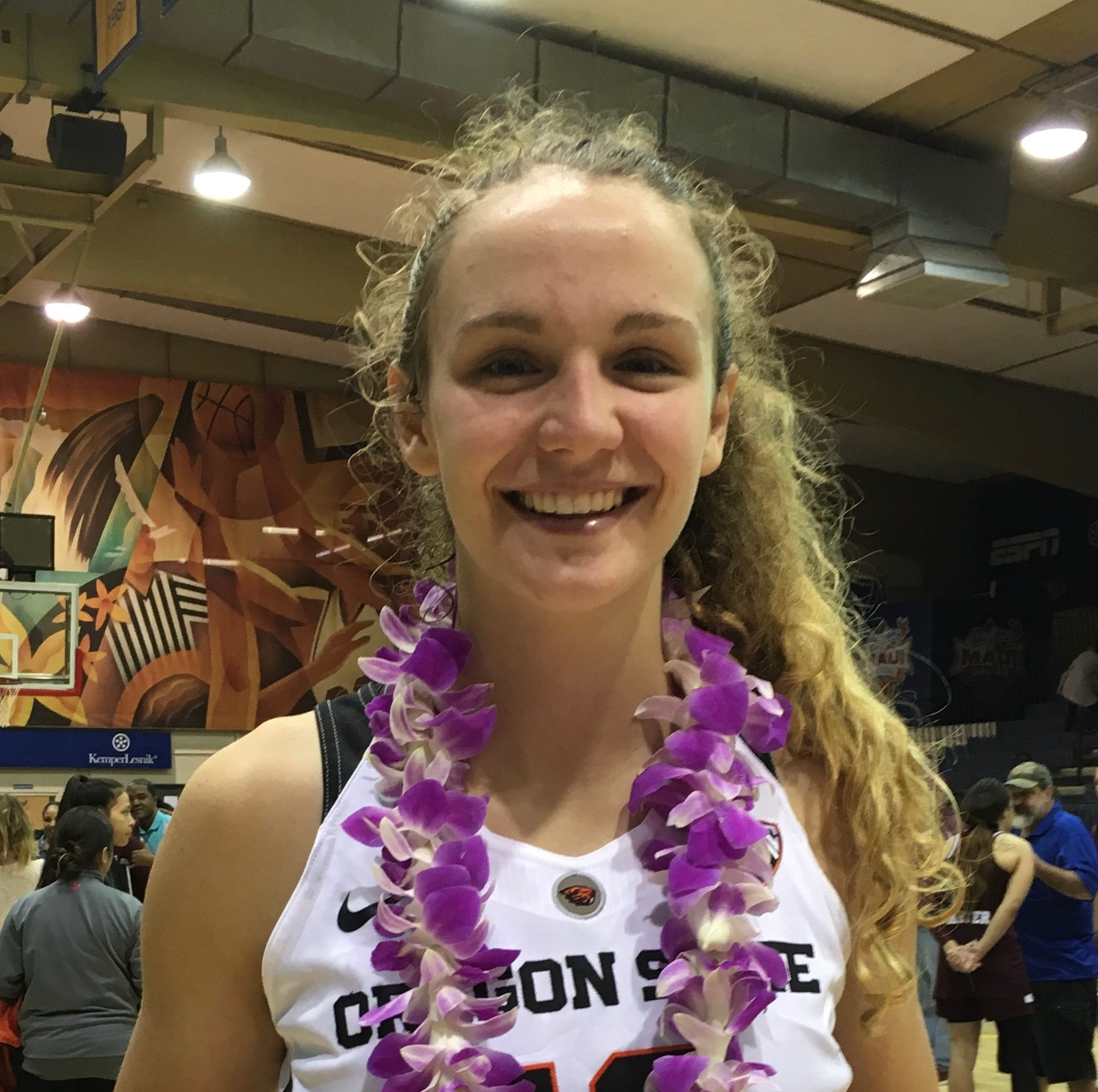 Oregon State's McWilliams named to All-Tournament team in Maui