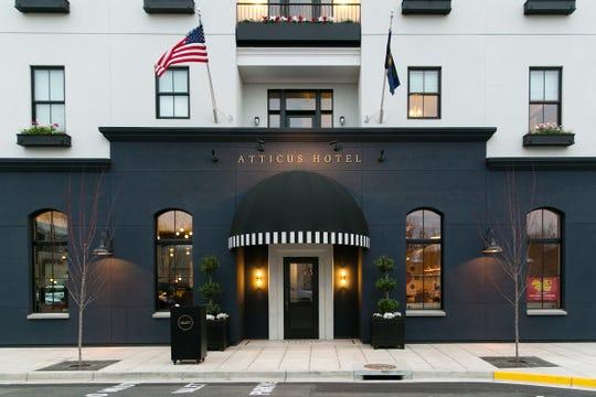 The Atticus Hotel in McMinnville, Oregon.