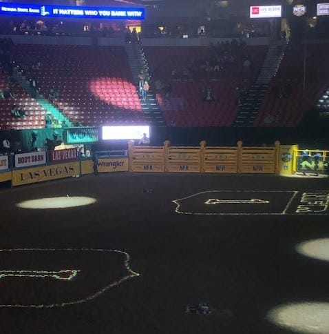 San Angelo company gets nod from National Finals Rodeo for arena work