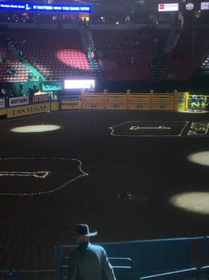 Ground Zero's finished product of the Thomas & Mack Center in Las Vegas, Nevada for the National Finals Rodeo.
