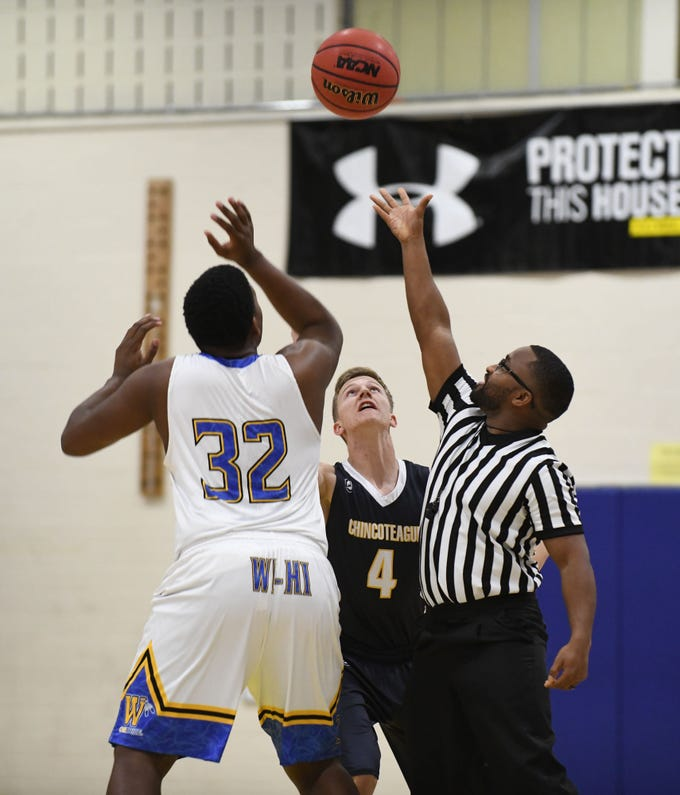 The Chicoteague Ponies battled the Wicomico High School Indians on Monday, Dec. 17, 2018 in Salisbury, Md. Wicomico won the game 79-28.