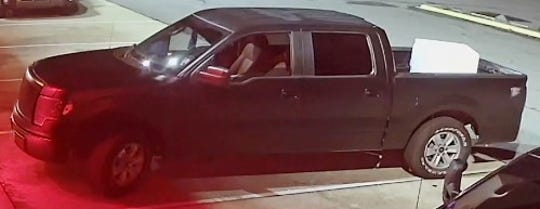 The suspects were in what appears to be a dark-colored, 4-door, 2012 Ford F-150, with Louisiana License plate VVG465.