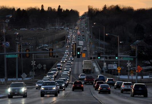 Sioux Falls construction traffic
