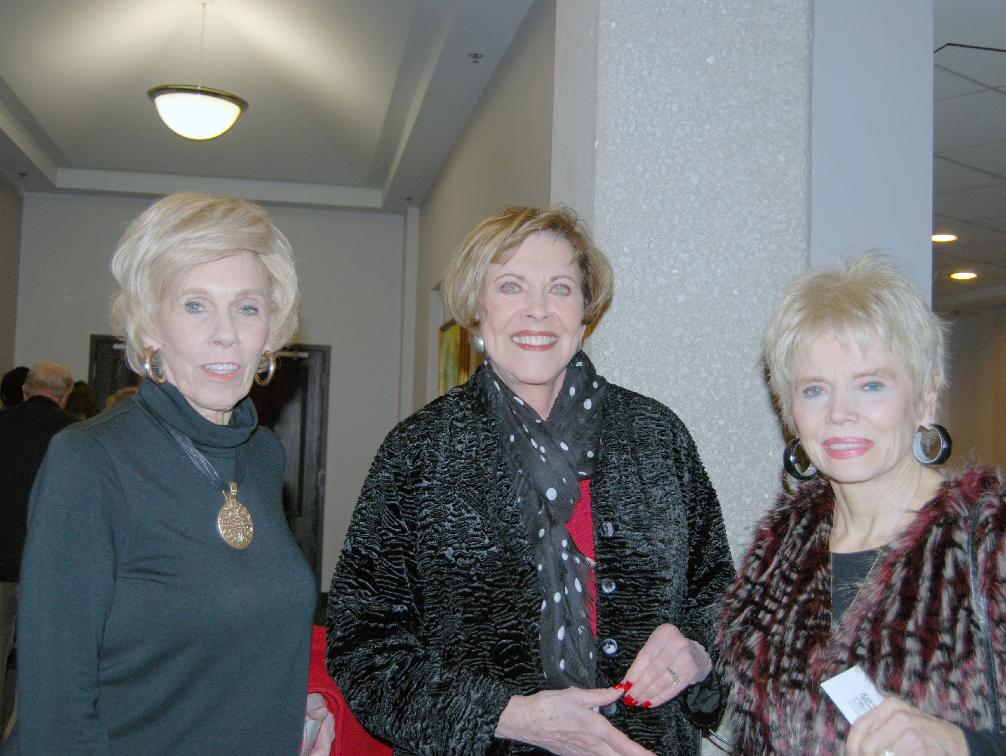 Judy Everett, Linda Overend and Sandra Lowther