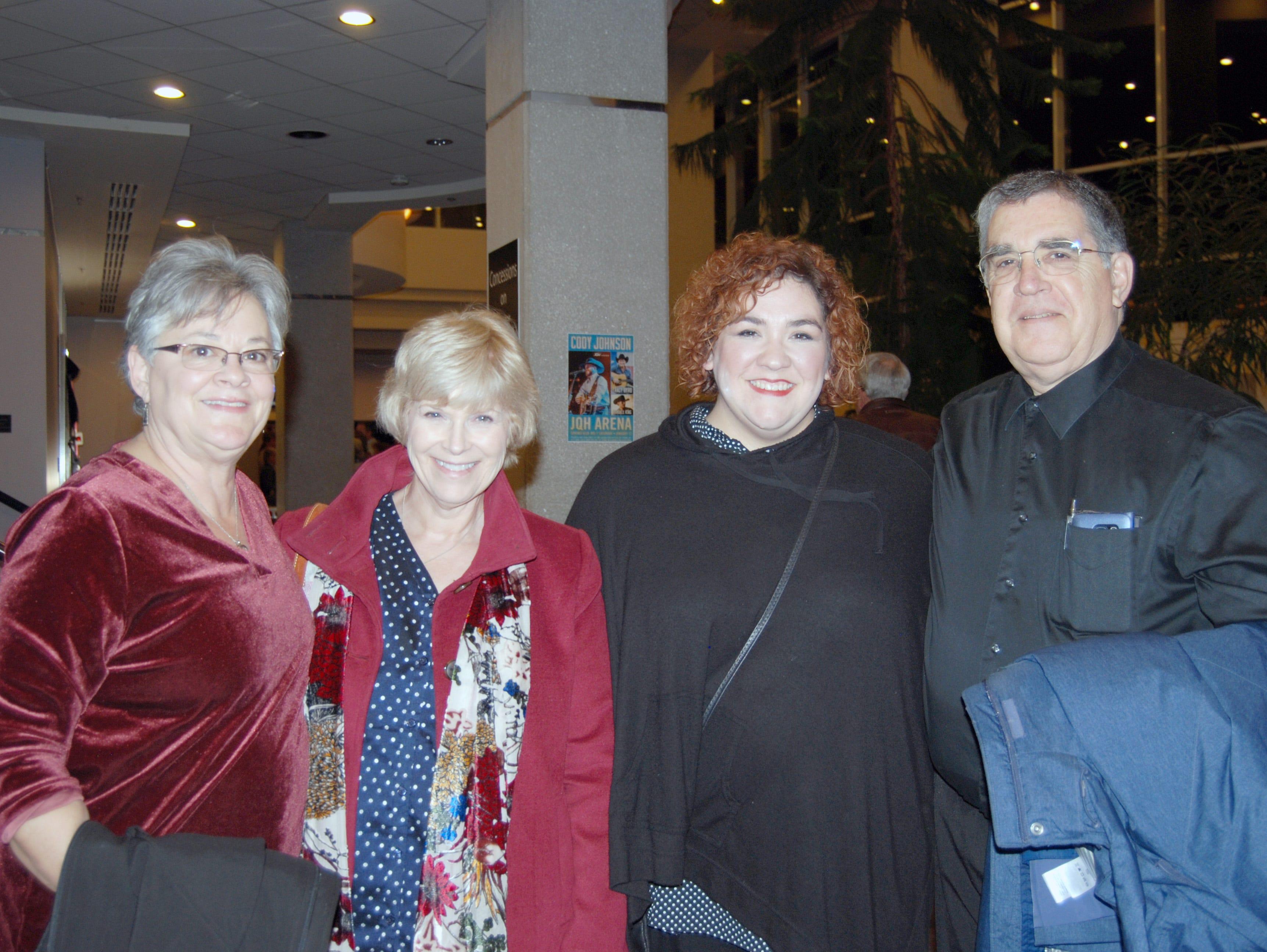 Susan Dollar, Deb McFarland, Angela and David Kingsnder
