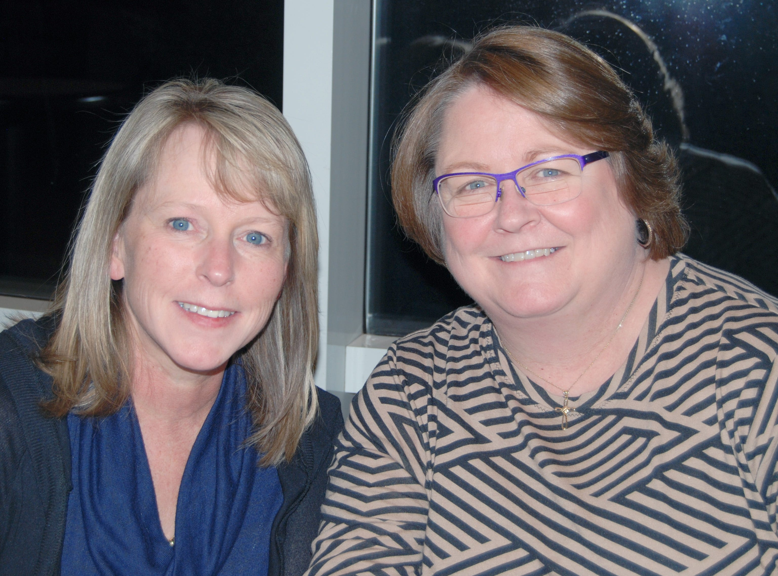 Becky Wieberg and Carolyn Mayer