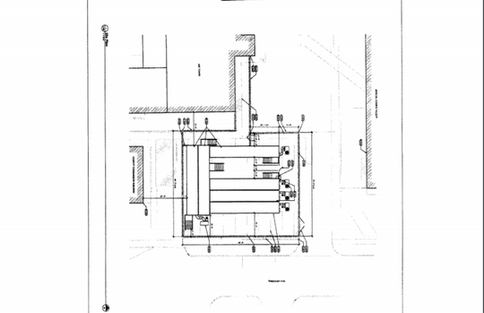 An architect's illustration of the Greene County trailer jail was included in the lease agreement between the county and All Detainment Solutions.