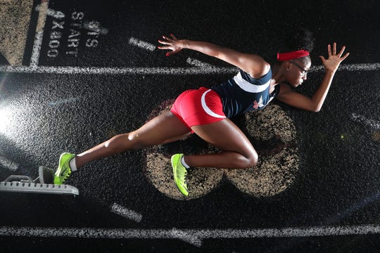 Wakulla senior Ma'Asa Gay is the 2018 All-Big Bend Runner of the Year in girls track and field after sprinting to the best area times in the 200- and 400-meter dashes and grabbing seventh-place state finishes in both events while setting personal bests.