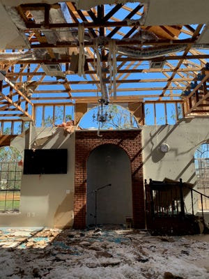 Hurricane Michael severely damaged the Panama City mosque that FSU alumni couple Mohammad Sherif and Iman Zawahry frequented.