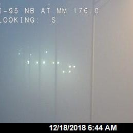 Heavy fog creates dangerous driving conditions along Space, Treasure coasts