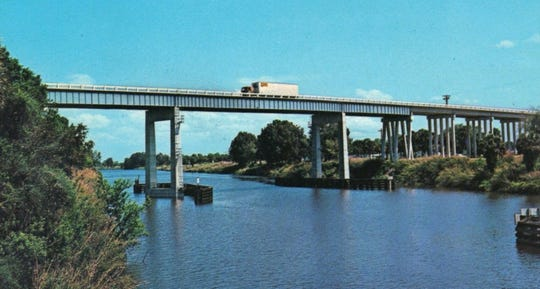 The Indiantown Bridge.