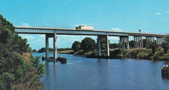 The Indiantown Bridge.