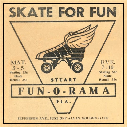 Fun-O-1.	Fun-O-Rama advertisement for 1960.