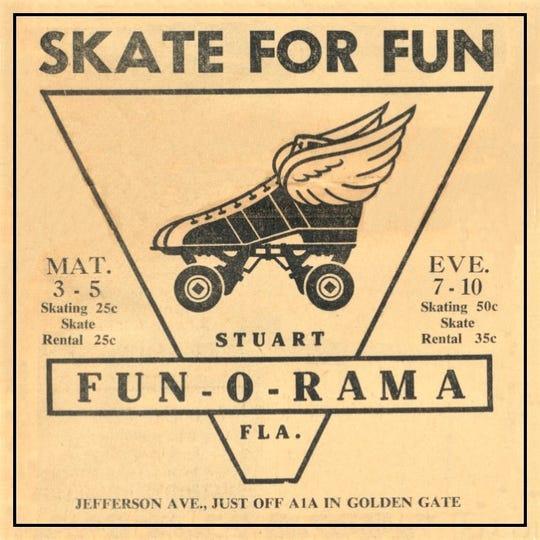 Fun-O-1.Fun-O-Rama advertisement for 1960.