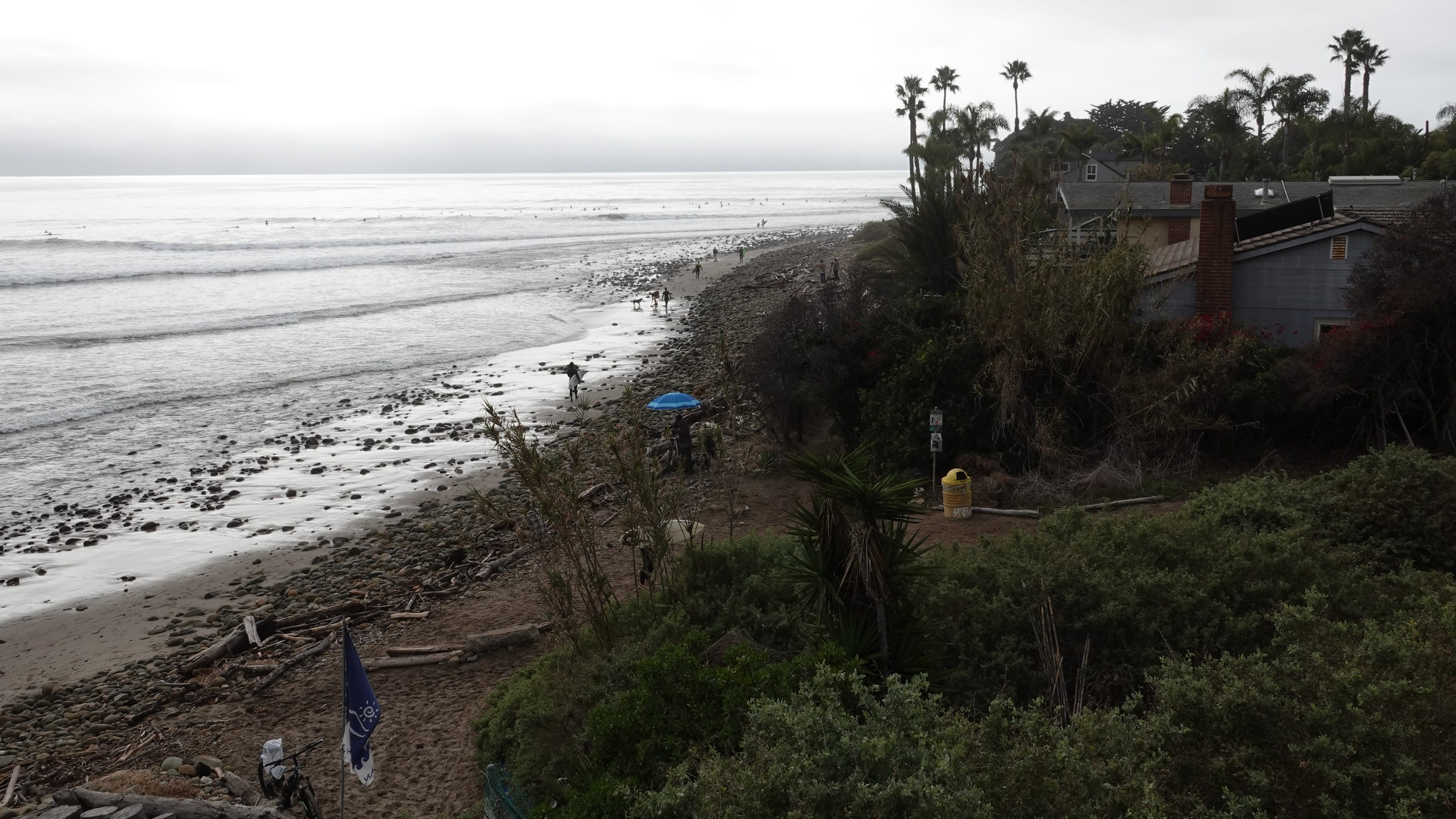 Ocean rescue at Rincon Point includes call for helicopter assistance
