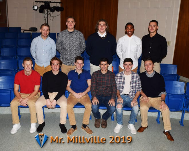 Eleven students will compete for the Mr. Millville title on Jan. 18.