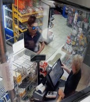 Exeter police are asking the public to keep an eye out for this man who they believe is the second suspect in the armed robbery from Exeter on Sunday.