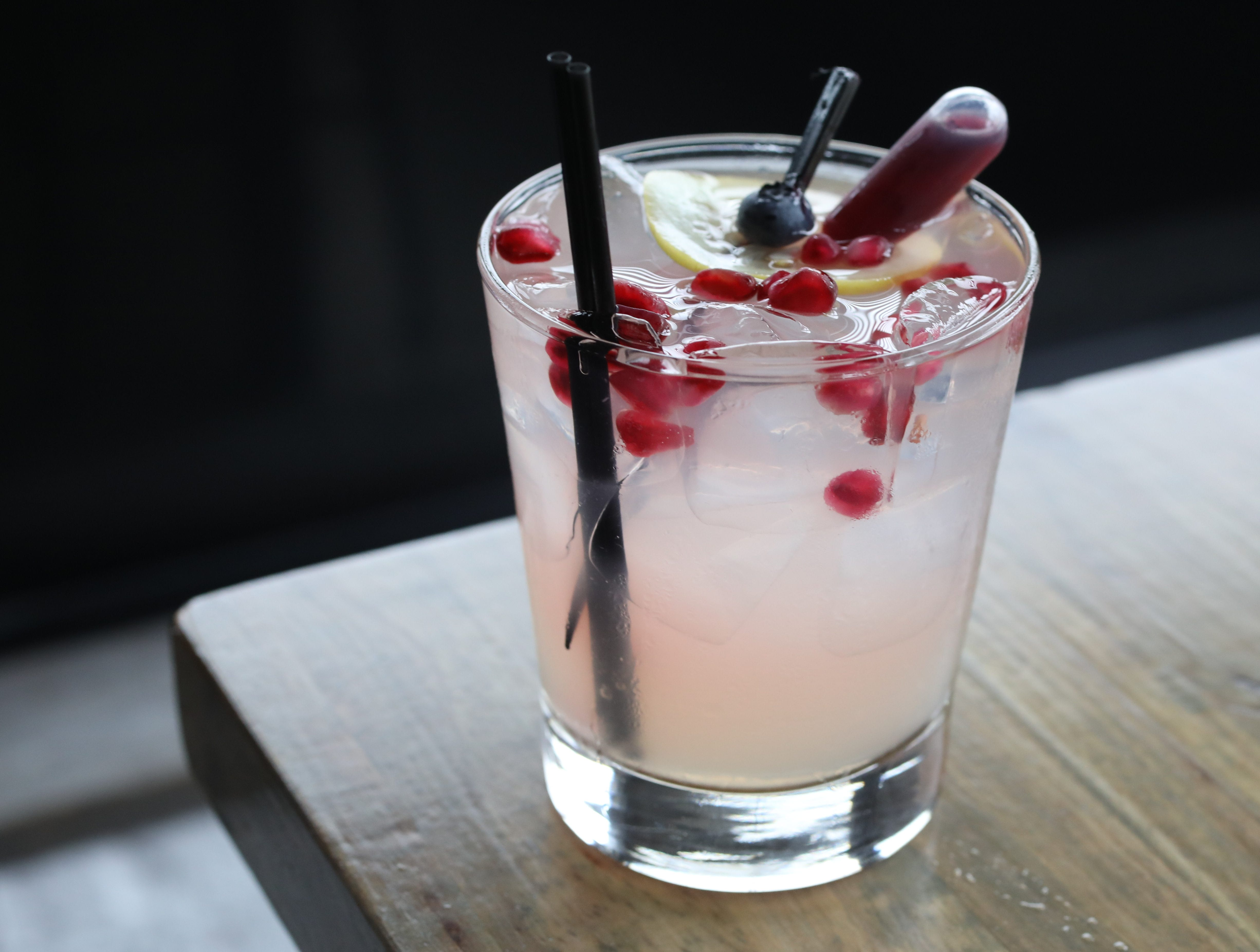 MARK VERGARI: The Lilly-Belle cocktail at Southern Table Kitchen & Bar in Pleasantville, photographed April 25, 2018.