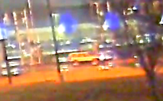 State police believe the jeep in this security camera footage may have been involved in a fatal hit-and-run that left a man dead Friday night.