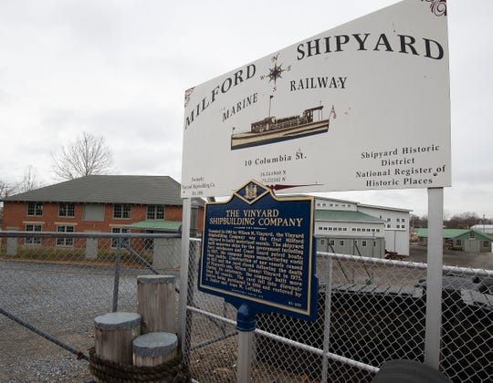 Vinyard Shipyard in Milford which is owned by Sudler and Joan Lofland.