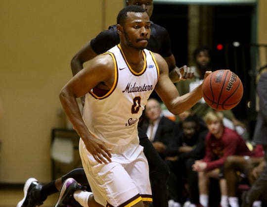 Midwestern State's JaJuan Starks had 25 points, his third 20-point game of the year, Monday in an 84-79 loss to NAIA Mid-America Christian. Starks made 9 of 15 field goals. He also had seven rebounds, four assists, four turnovers and two steals.