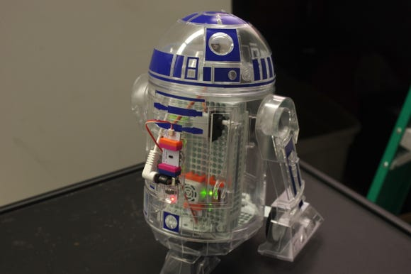 The Droid Inventor Kit allows you to build, code, and customize your very own R2-D2.