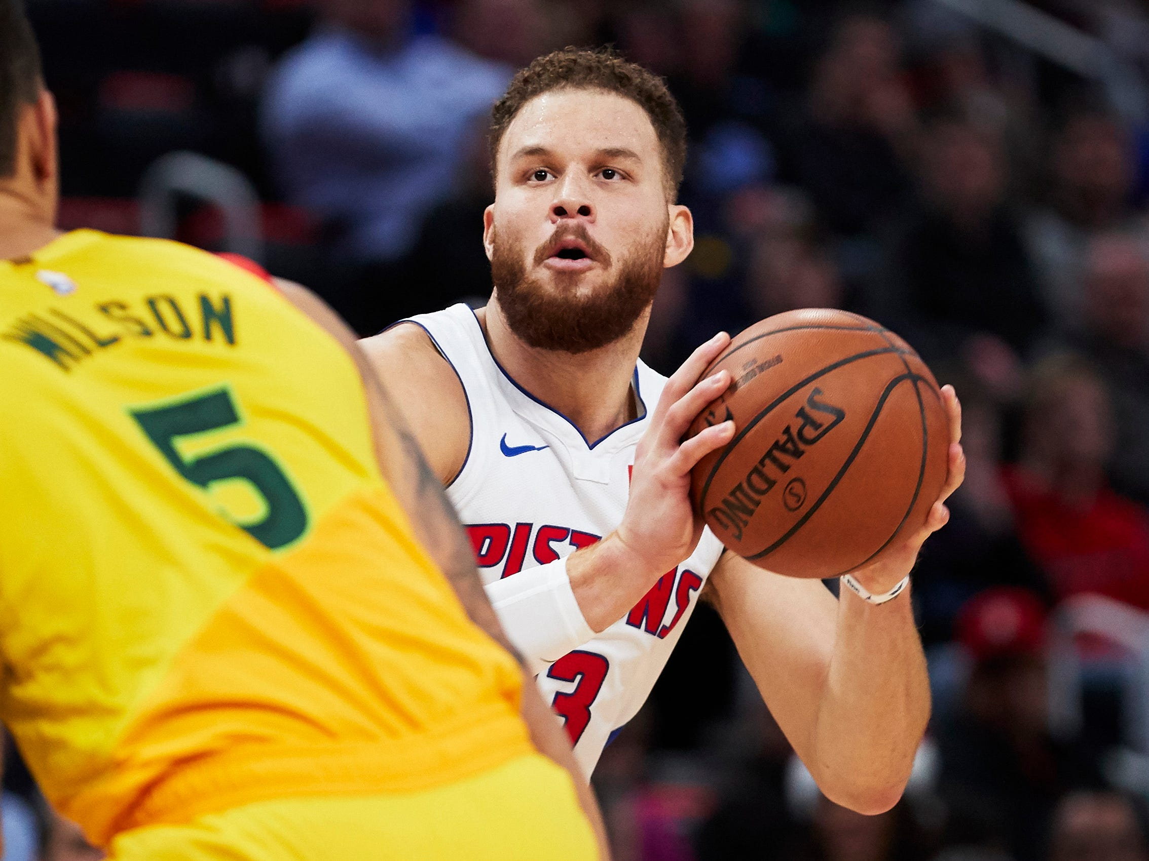 29. Blake Griffin, Pistons (Dec. 17): 19 points, 11 assists, 10 rebounds in 107-104 loss to Bucks.