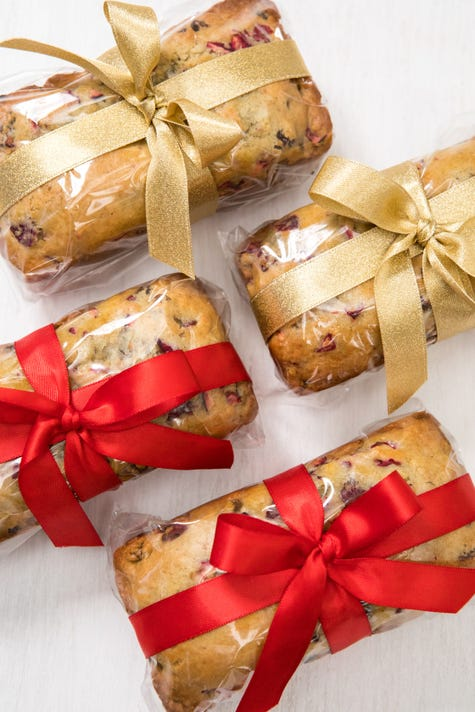 Mini Loaves Of Cranberry Bread Resize