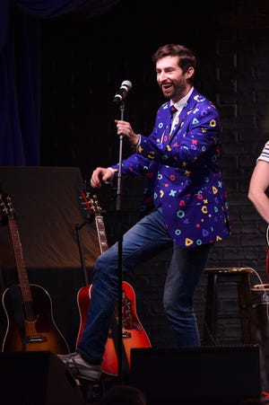 Scott Rogowsky performs onstage during Running Late with Scott Rogowsky at Team Coco House during New York Comedy Festival on November 9, 2018 in New York City.