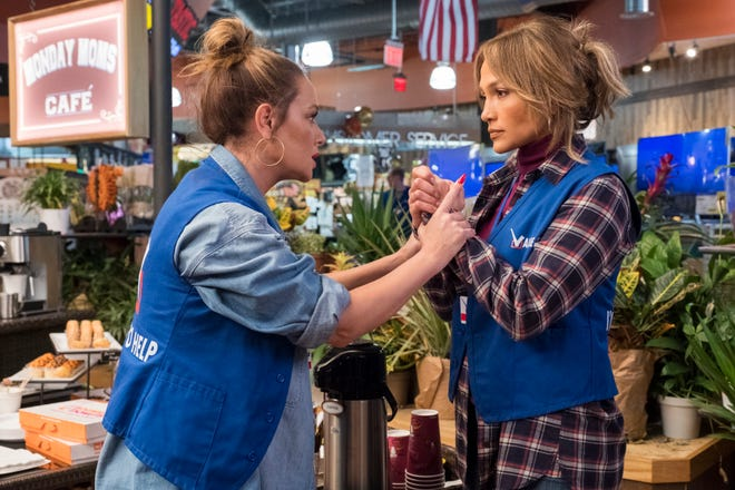"""Leah Remini and Jennifer Lopez play best friends in """"Second Act."""""""