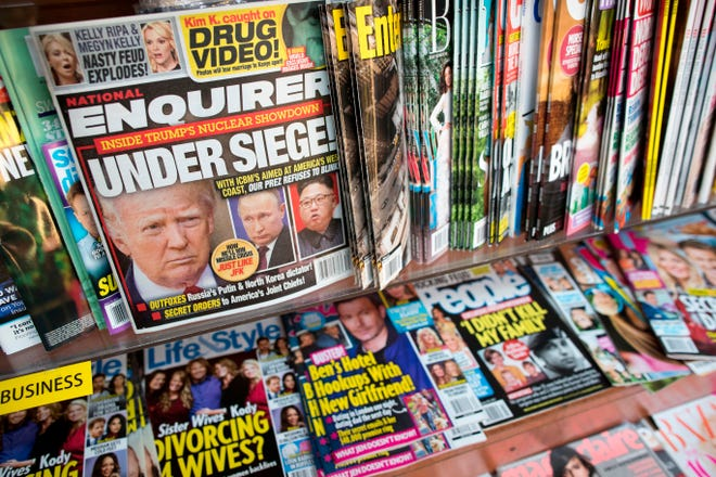 An issue of the National Enquirer